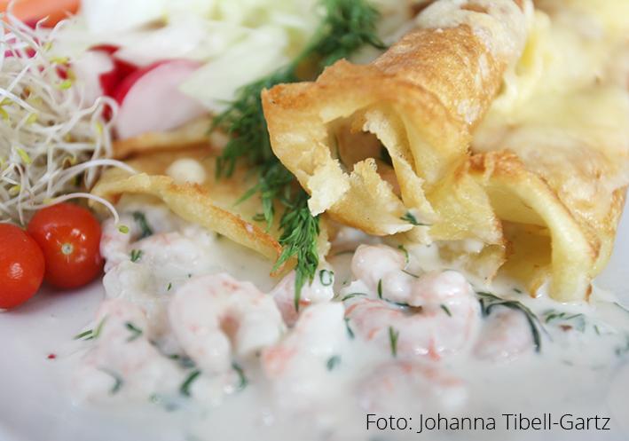 Soppa och Pannkakor, blogg, Johanna Tibell-Gartz, pannkakor, Crepes, Crepes med räkor, Crépes med räkor, Crépes